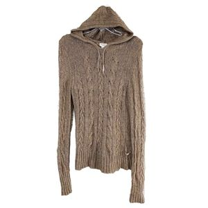 American Eagle Girls XL Cozy Angora Wool Hoodie